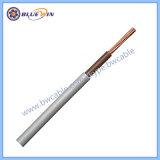 6181y Single Core 1,5mm isolamento duplo Brown Gray Live cablagem das luzes de cabo