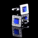 Manchetknopen Van de Bedrijfs mens van de Diamant van de manier de Elegante van de Gift
