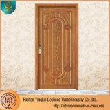 Deshengの新式の固体彫版の主要な木のドアデザイン