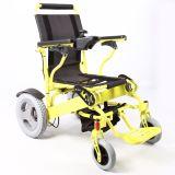 CC 24V 12ah della batteria di litio che piega sedia a rotelle elettrica Jbh D09