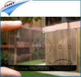Cartes nommées transparentes claires de carte de visite professionnelle de visite de PVC