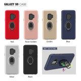 Titular de la corona giratoria de 360 grados de los casos para el Samsung Galaxy S9