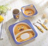 Dinnerware малышей Compostable волокна Tableware шелухи риса Bamboo смешной