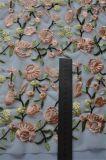 女性の衣服のための小花の刺繍が付いているメッシュ生地