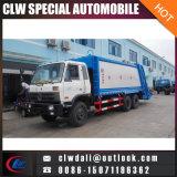 重い4X2 Dongfeng 8tonsのガーベージの圧縮のコンパクターのトラック