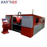 Металл / утюг / корпус из углеродного волокна лазерная резка машины 500W Ipg лазерной печати