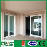 Австралийская стандартная алюминиевая раздвижная дверь с Tempered стеклом