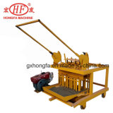 Concrete Qm4-45 Hollow Block Brig Making Machine