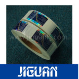 Custom Design лазерные голограммы серебристой наклейке