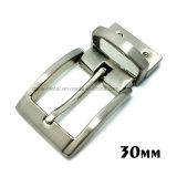 Alliage de zinc métal de haute qualité réversible broche boucle la boucle de ceinture pour les courroies de chaussures du vêtement Robe de sacs à main (XWS-ZD445--ZD461)