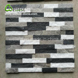 Decay Concise Style Black & White Quartzite Culture Stone Ledge Stone for barrier Covering