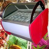 Eiscreme-Bildschirmanzeige-Kühlraum der Wannen-14PCS