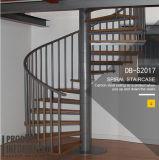 炭素鋼の純木のステアケースデザイン