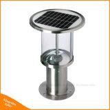 Lampada di palo solare esterna di paesaggio del giardino dell'indicatore luminoso LED del prato inglese