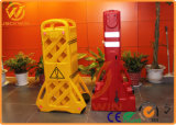 機密保護の道のブロッカー、拡張可能プラスチック障壁、群集整理の障壁