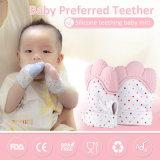 Des freies Beispiel/Babies der haltbaren Silikon-Baby-Dentition Teether/Handschuhs Zahnenhandschuh