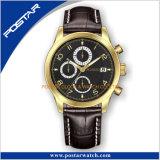 日本水晶動きが付いている既存のケースの在庫の高品質の人のスポーツの腕時計