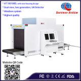 La vista dual de rayos X dos generadores de rayos X Escáner de equipaje para el aeropuerto