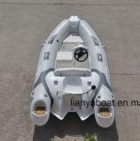 Liya 3,8 m pequeno barco inflável de Casco rígido baratos para venda