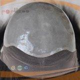 Peluca llena del frente del cordón de Handtied (PPG-l-01778)