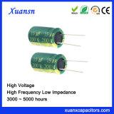 200V 15UF Hoge Frequentie van de 4000hours de Elektrolytische Condensator