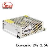 60W 24VDC 2.5A 경제적인 디자인 LED 엇바꾸기 전력 공급 SMPS