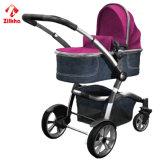 Bequemes Baby Spaziergänger-Auto mit Frme und regelmäßigem Sitz