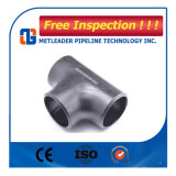 La norma DIN 2615 Acero al carbono Sch40 Tubo de la igualdad de la t