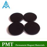 De zwarte Epoxy Ronde Magneet van de Zeldzame aarde met het Magnetische Materiaal van het Neodymium