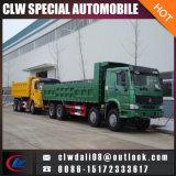 LHD Rhd 8*4 최신 판매를 위한 팁 주는 사람 덤프 트럭