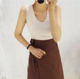 Jeu de haute qualité à chaud de la jupe courte T-shirt, robe Half-Body