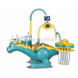 恐竜デザイン子供の歯科椅子の単位が付いているOsa-A8000-IiaのFDAそしてセリウムによって承認される子供の歯科単位