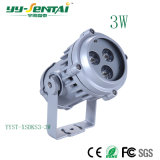 屋外の高品質3With6W LEDの点ライト
