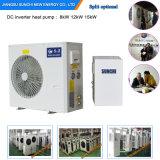Amb。 -25cの冬の床暖房100~350sqのメートル部屋12kw/19kw/35kwのCondensorの屋内分割より高い警察官の中国のヒートポンプEvi
