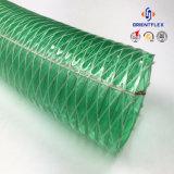 Mangueira da tubulação do fio de aço do PVC da fonte do OEM