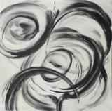Het Schilderen van de Hand van de Druk van het Canvas van Abstrac van het platteland