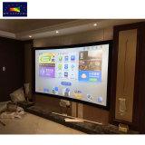 1.2Cm de haute qualité/6cm/8cm/10cm de largeur du châssis en alliage aluminium Écran de projection avec Multi velours de couleur pour la 3D/4K projecteur Home Cinéma