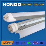 4FT 18W (40W equivalente) 4000K (la luz del día el resplandor) simple poder lechoso Tapa G13 Accesorios de iluminación LED T8 Tubo de luz de la tienda