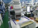 新しく小さいタイプSinleのヘッドによってコンピュータ化される平らな刺繍機械価格