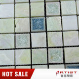 Couleur vert clair la fissure chinoise de glace de mélange de mosaïque de jade en céramique