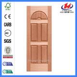 Panel Compuesto de chapa de madera puerta de madera de la piel (JHK-015)