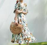 نساء زهرة [بتّرن&160]; فصل صيف ثوب طويلة