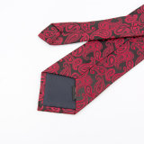 Hermoso crear el lazo del cuello para requisitos particulares de los hombres de la flor del anacardo, lazos de Paisley
