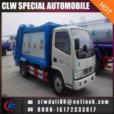5 Compacteur de GAC Camion Poubelle Camion Poubelle avec compression des prix bon marché