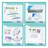 Les fournitures médicales point de tests de soins pour la grossesse, le VIH, /VHB/HEV, le paludisme, la tuberculose, de la Gonorrhée