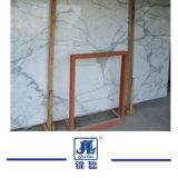 Calacatta poetste Witte Marmeren Steen voor Gebouwd Countertops//het Ontwerp van Vanitytops/van het Hotel op