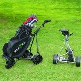 전기 골프 카트 트롤리 (DG12150-B)를 접히는 3 바퀴