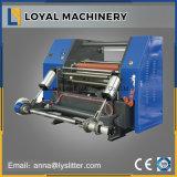 Enrolamento de Alta Velocidade Automática do filme e corte longitudinal de máquina