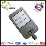 Большой уличный свет сбывания 170lm/W 100W напольный регулируемый СИД, дешевый уличный фонарь уличного света солнечный СИД СИД с утверждением Ce& RoHS