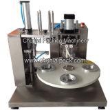 Tipo rotatorio máquina de relleno del lacre de la taza manual del yogur